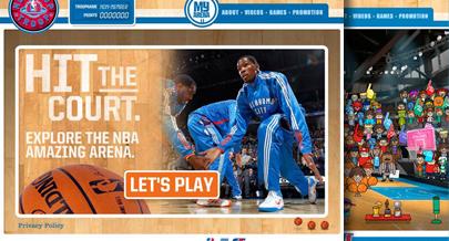 Introducing the NBA Hoop Troop: Where Amazing Begins.