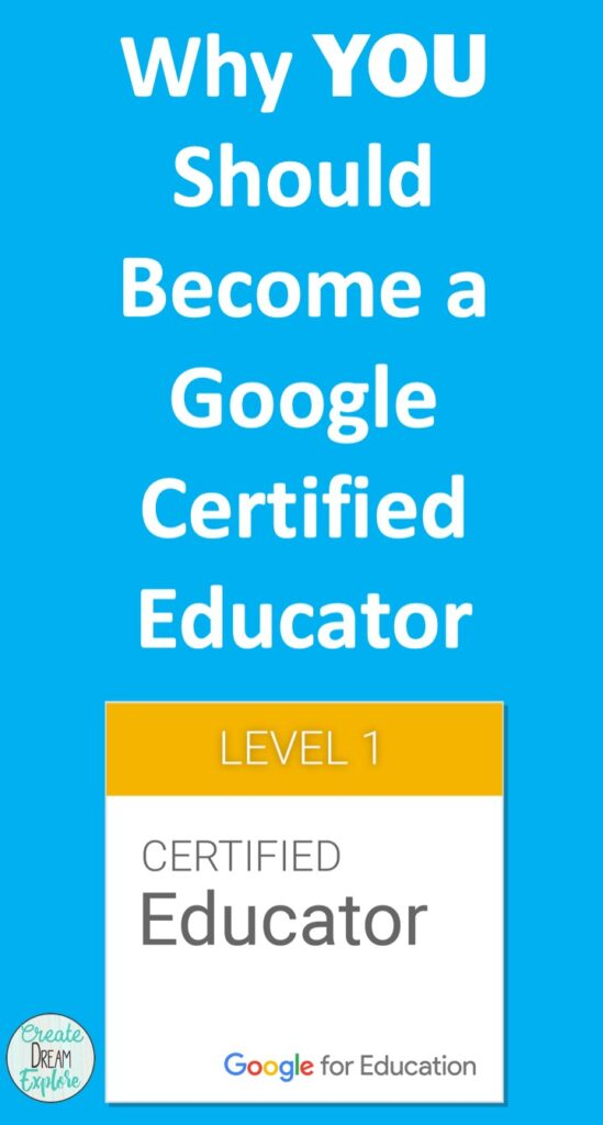 Why you should become a google certified educator
