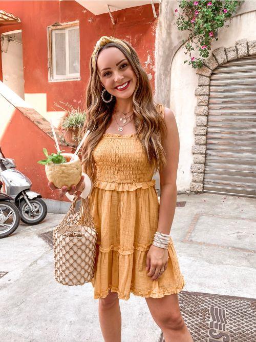Dress in Capri, Italy
