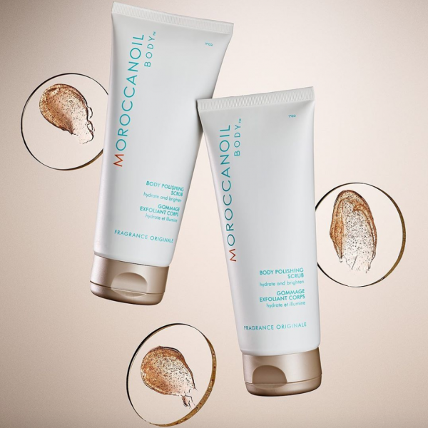 New Moroccanoil Body Polishing Scrub - find out the best time to exfoliate with it