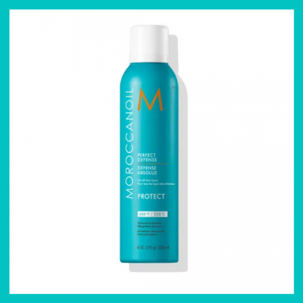 Moroccanoil Perfect Defense Heat Protectant - use for an at-home blowout