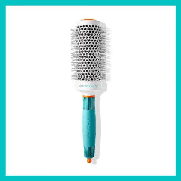 Moroccanoil Ceramic Round Brush - use for an at-home blowout