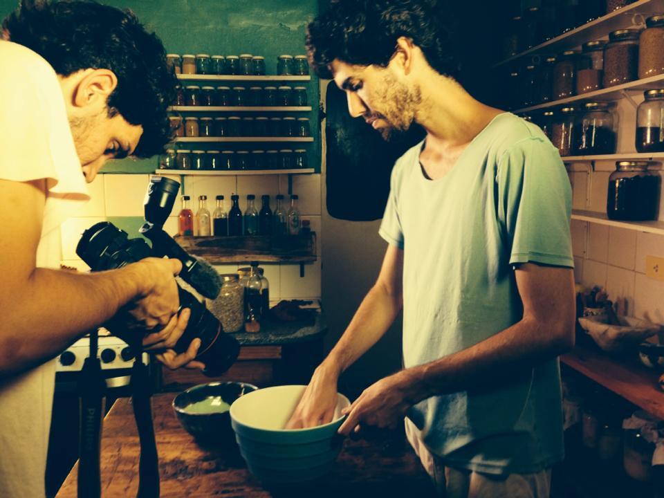 Cocina Aruma (filmacion)