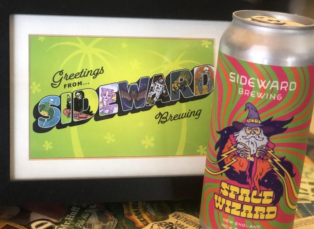A New England IPA by Sideward Brewing in Orlando, FL.