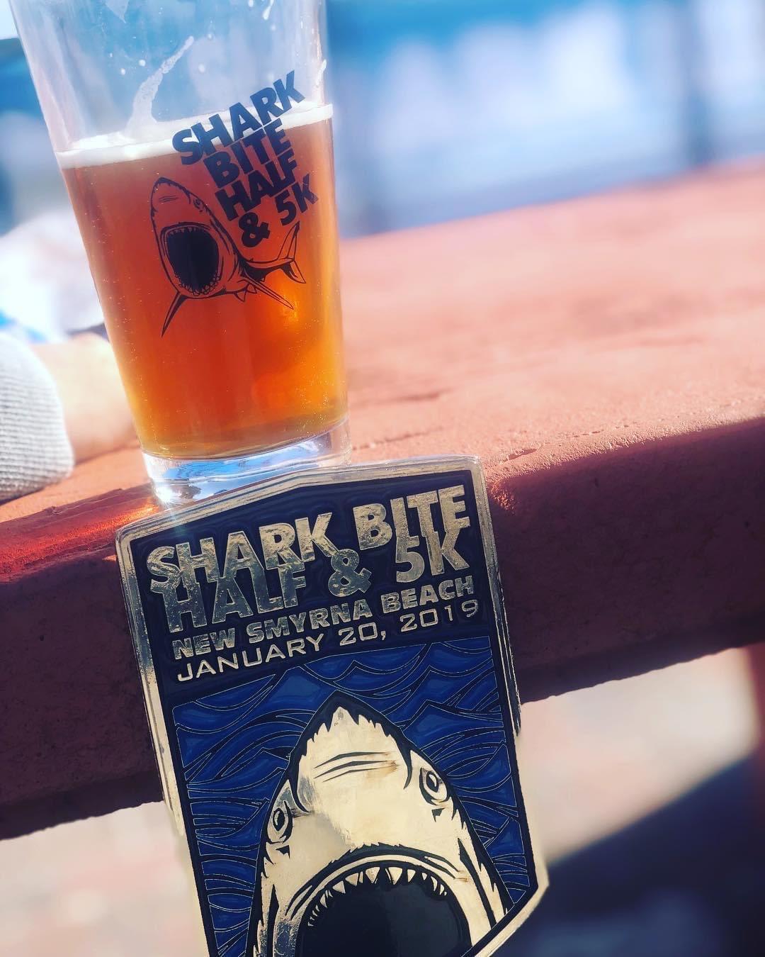 shark bite half beer