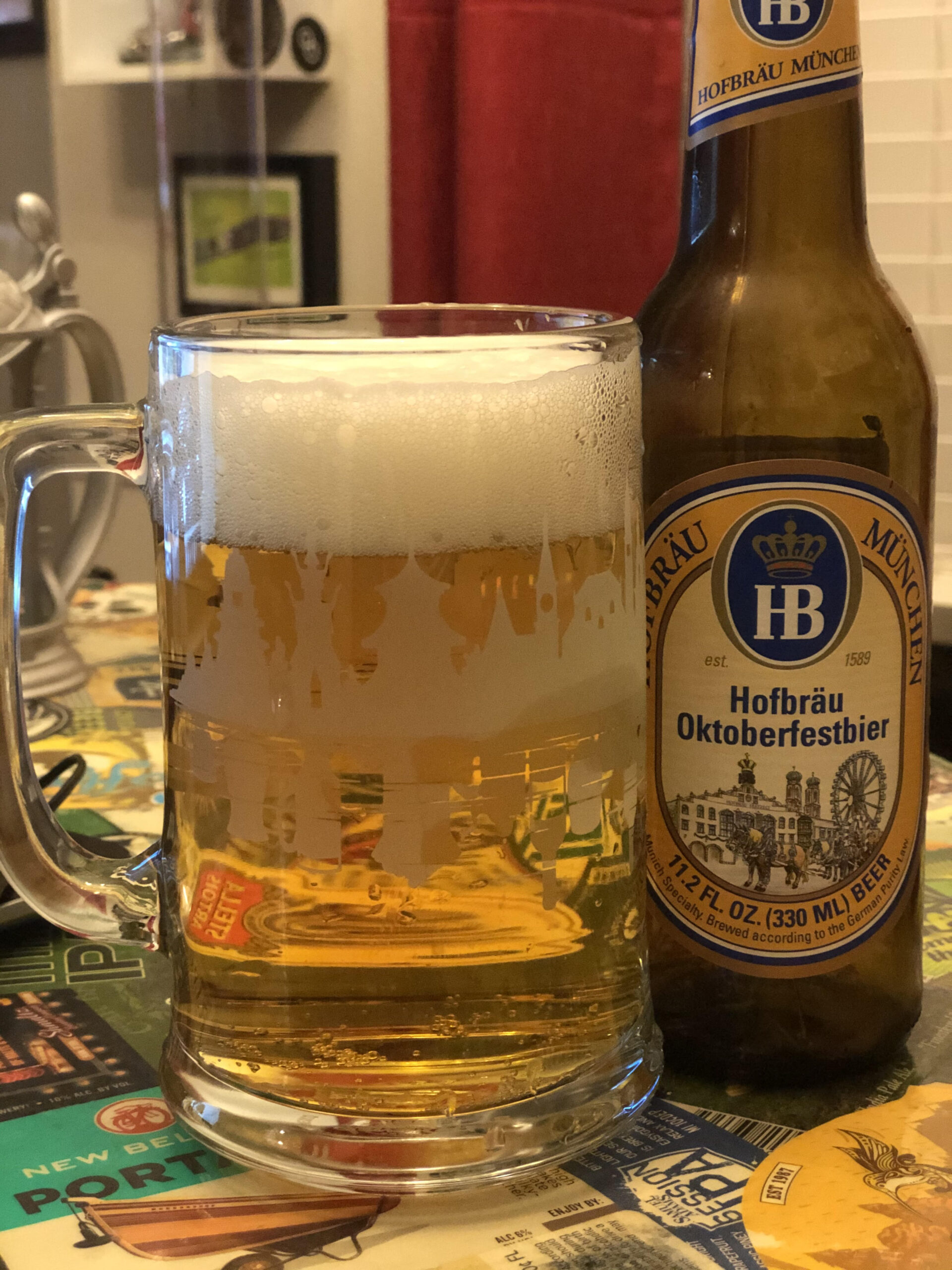 Hofbrau Oktoberfestbier