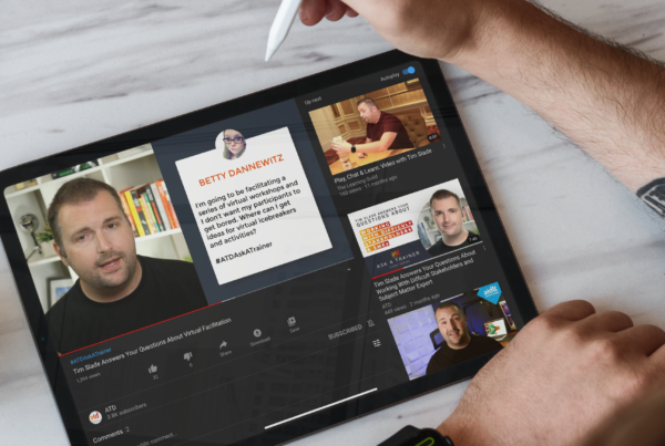Tim Slade Answers Your Questions About Virtual Facilitation | Freelance eLearning Designer | The eLearning Designer's Academy