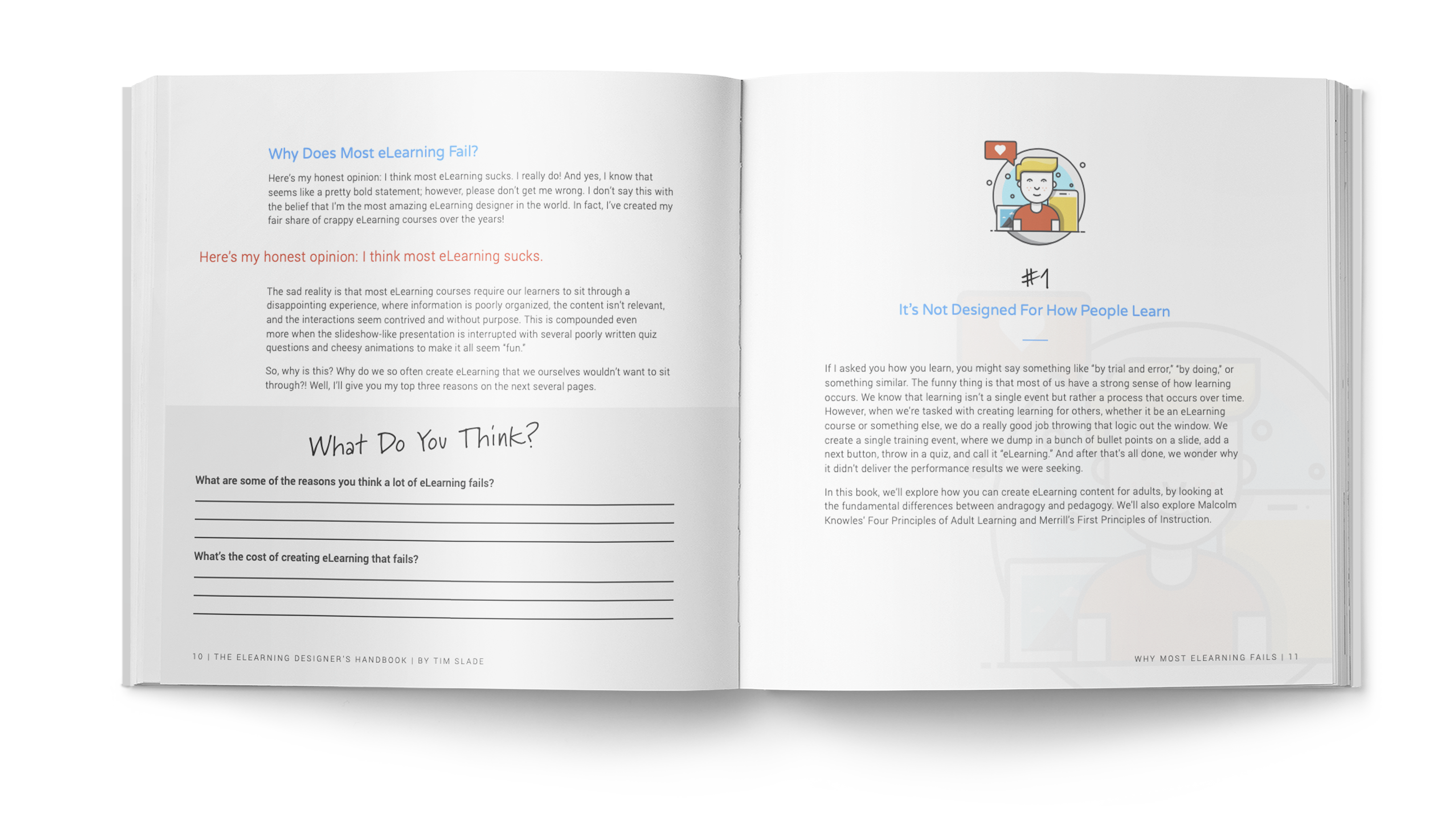 The eLearning Designer's Handbook by Tim Slade   Why Most eLearning Fails   Freelance eLearning Designer   The eLearning Designer's Academy