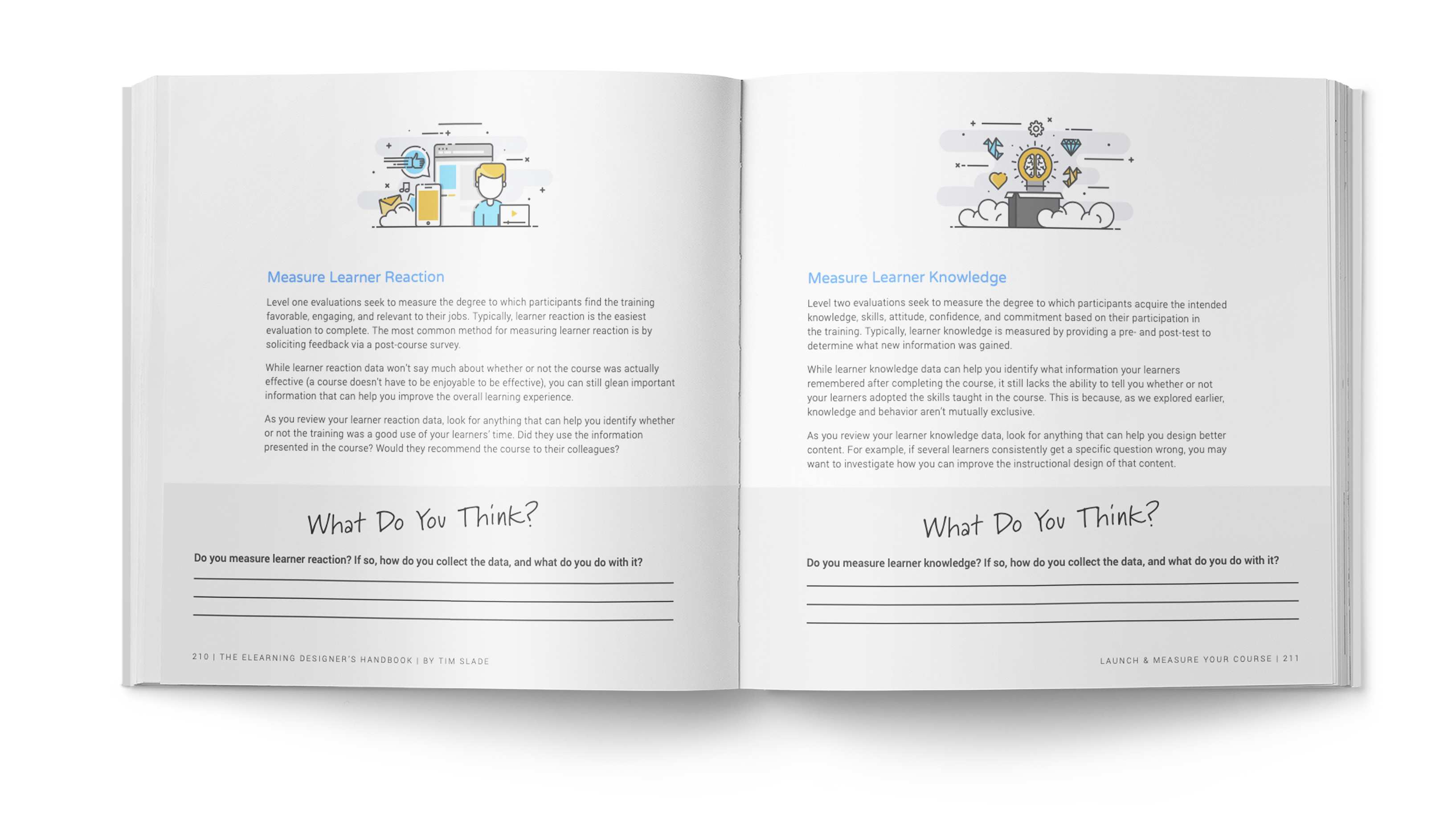 The eLearning Designer's Handbook by Tim Slade | Launch & Measure Your Course | Freelance eLearning Designer | The eLearning Designer's Academy
