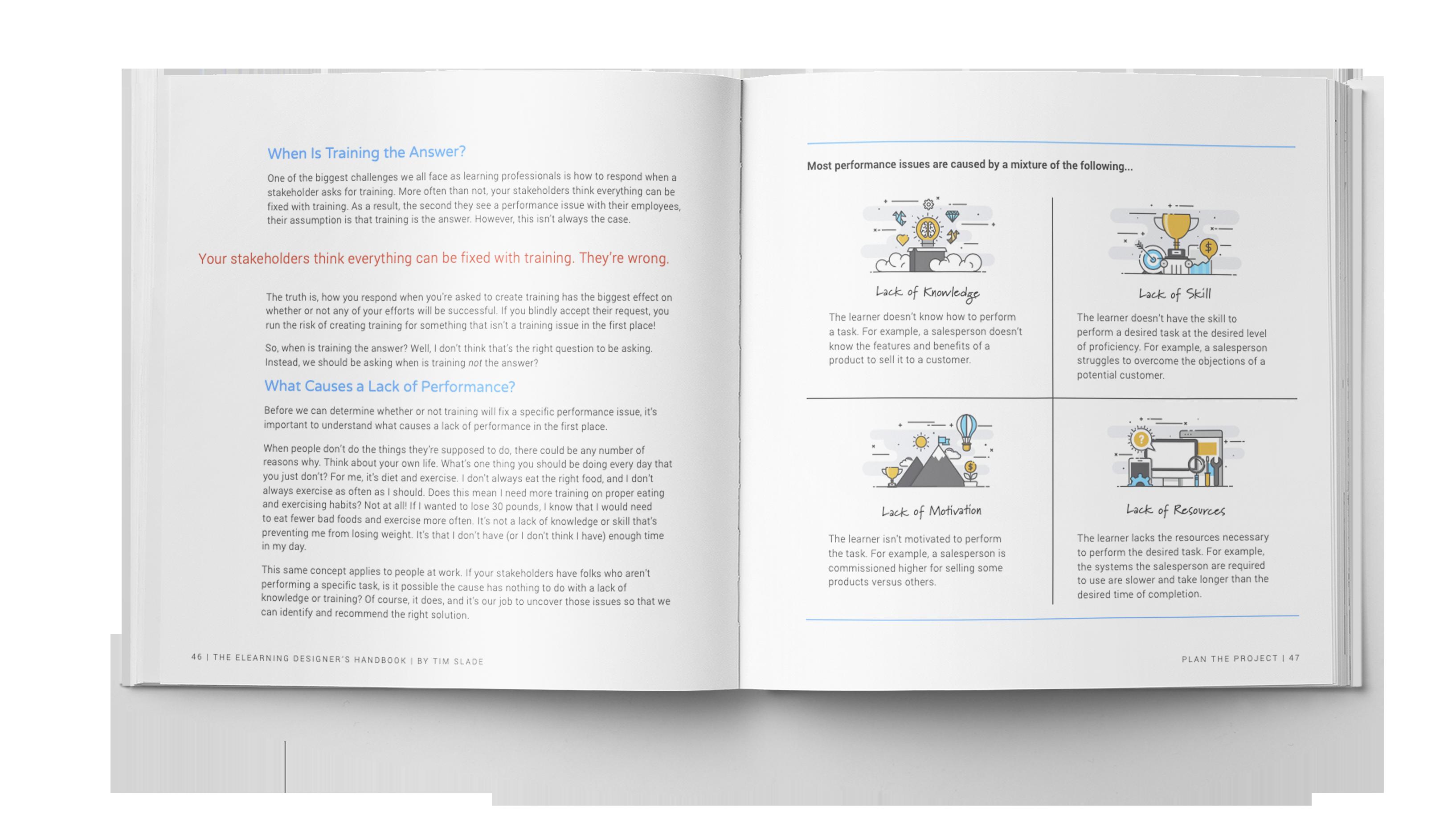 The eLearning Designer's Handbook by Tim Slade   Plan the Project   Freelance eLearning Designer   The eLearning Designer's Academy