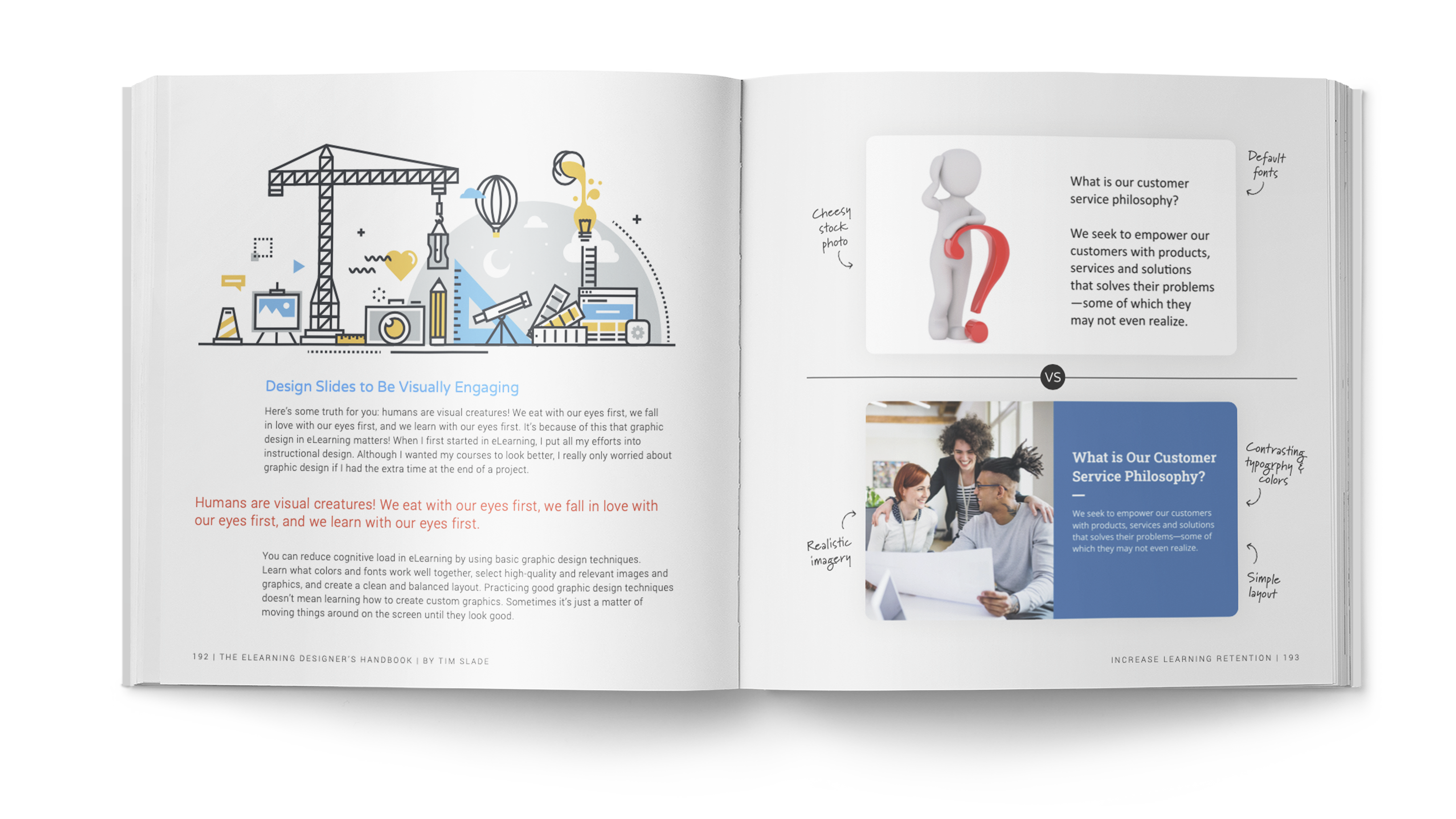 The eLearning Designer's Handbook by Tim Slade | Increase Learning Retention | Freelance eLearning Designer | The eLearning Designer's Academy