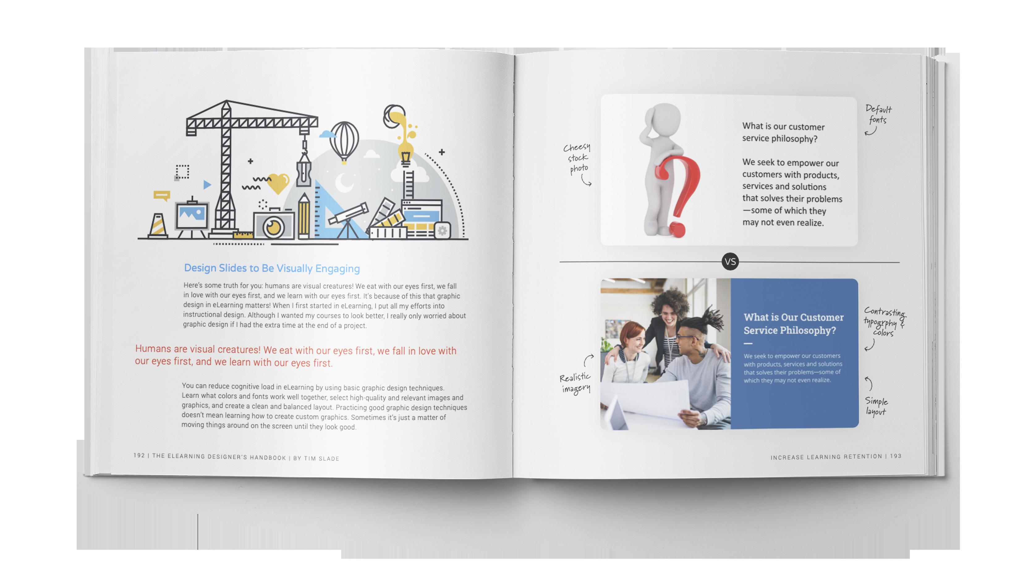 The eLearning Designer's Handbook by Tim Slade | Increase Learning Retention | Freelance eLearning Designer | The eLearning Designer's Academy