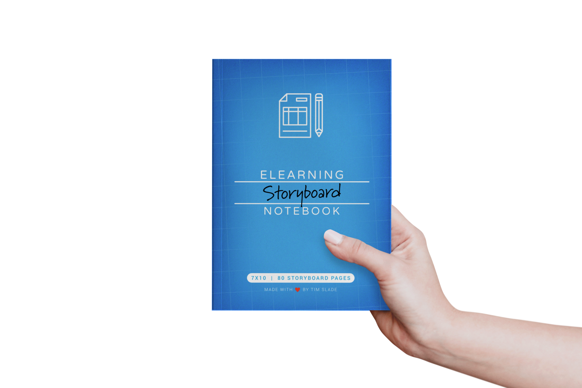 The eLearning Storyboard Notebook by Tim Slade | The eLearning Designer's Academy | Freelance eLearning Designer | eLearning Books