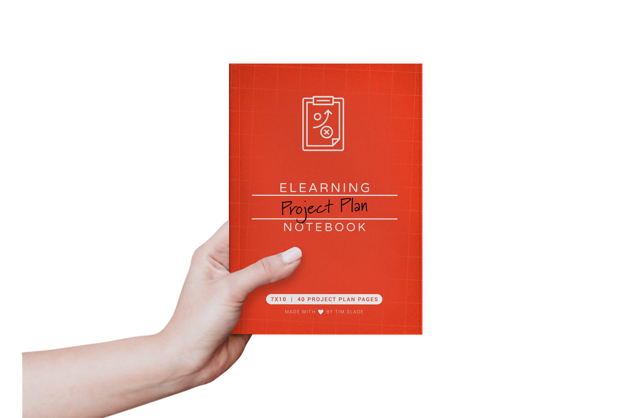 The eLearning Project Plan Notebook by Tim Slade | The eLearning Designer's Academy | Freelance eLearning Designer | eLearning Books
