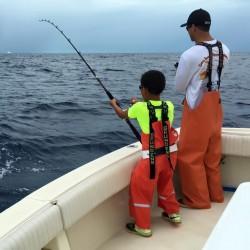 Father and Son Fishing in Islamorada
