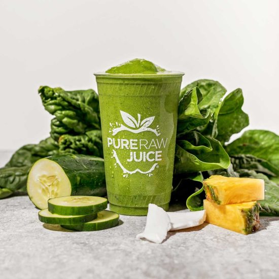 Pure Raw Juice Green Aid Smoothie