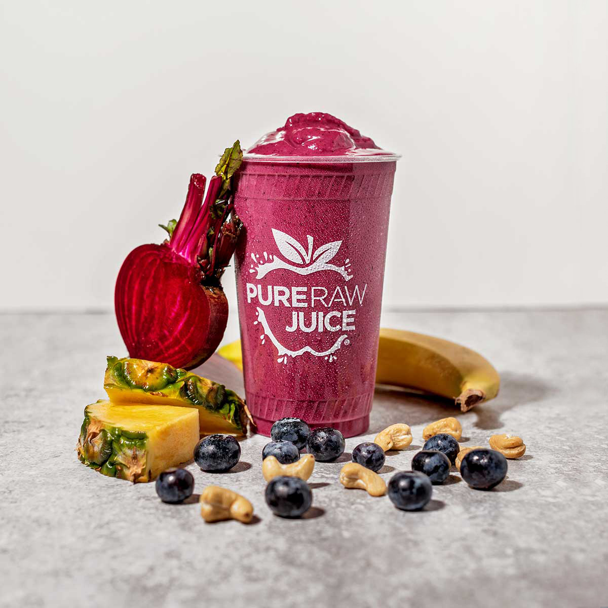 Pure Raw Juice Violet Smoothie