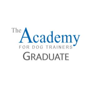 the academy of dog training logo