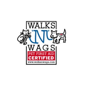 walks n wags logo | dog training