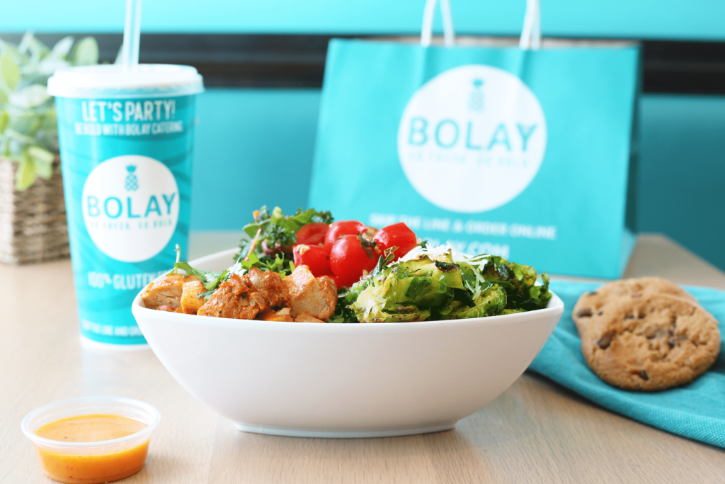 bowl and food from Bolay the 2019 restaurant of the year according to South Florida Business Journal