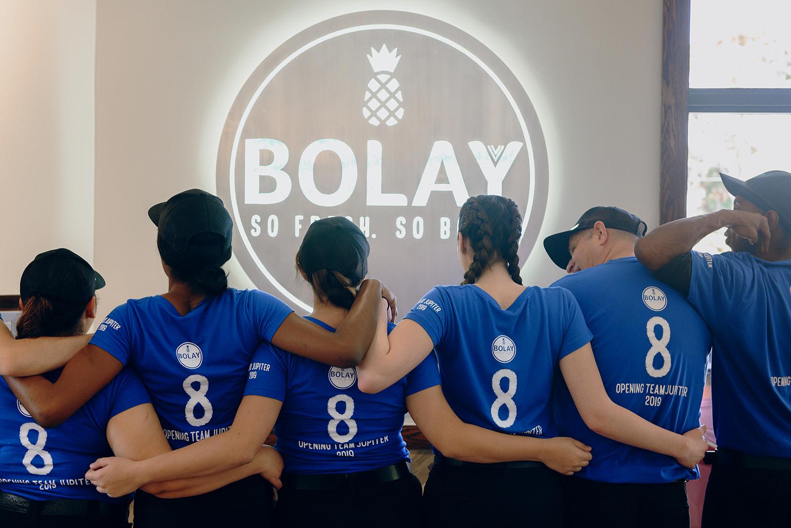 Bolay team gets ready