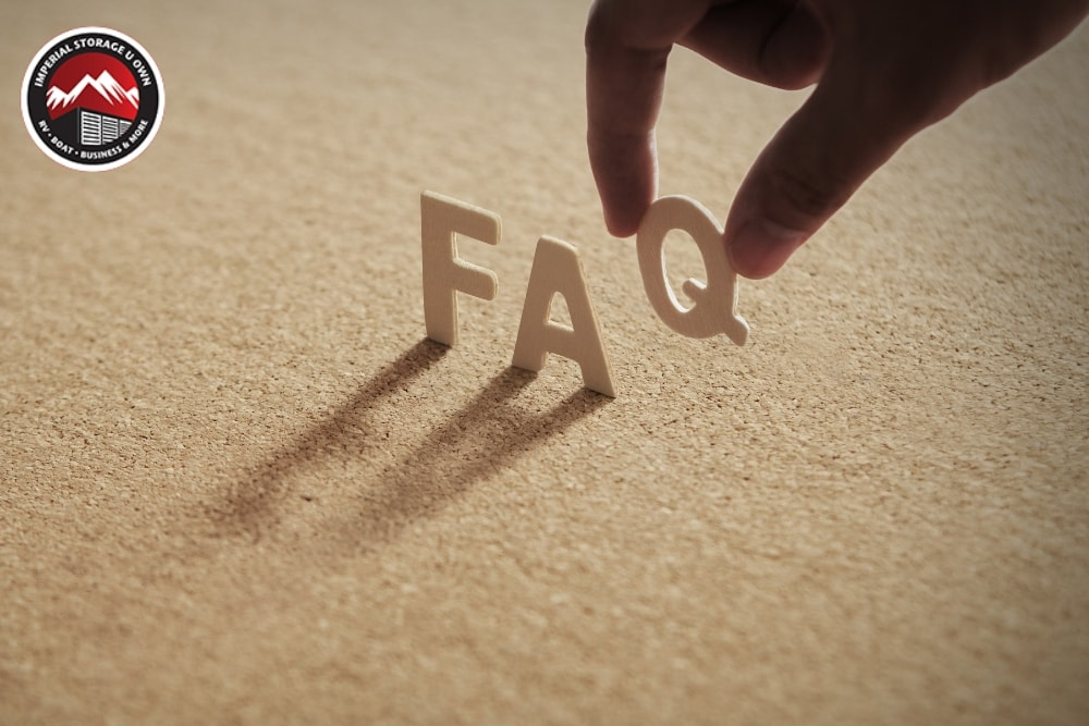 Storage FAQs: Answers to The Most Common Questions About Storage Unit for Sale