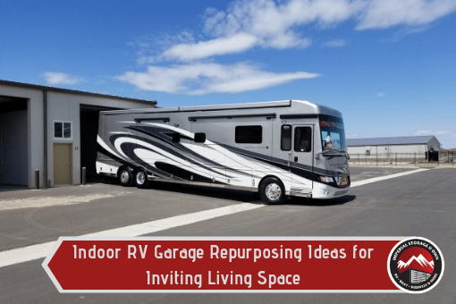 Indoor RV Garage Repurposing Ideas for Creating an Inviting Living Space