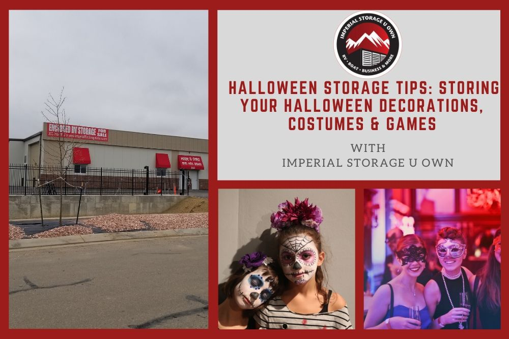Halloween Storage Tips: Storing Your Halloween Decorations, Costumes & Games