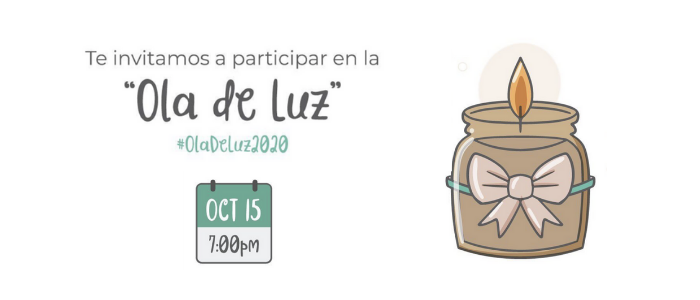"""Participa de: """"Ola de Luz"""""""