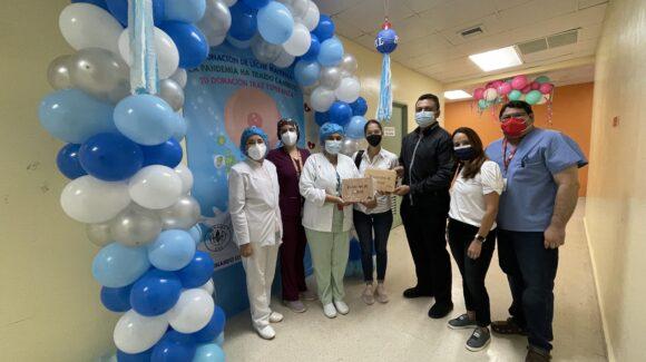 Donación Hospital Irma de Lourdes Tzanetatos