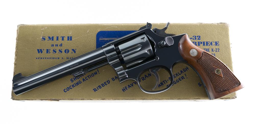 Smith & Wesson Pre Model 16 K-32 Masterpiece