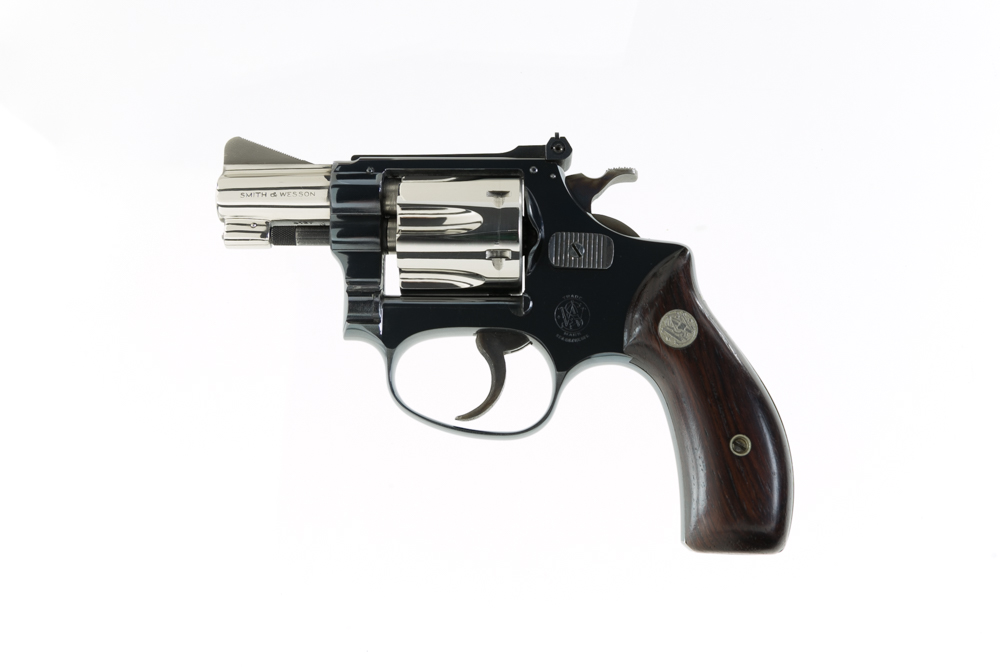 Smith & Wesson Pre Model 34 22/32 Kit Gun Factory Two Tone Pinto