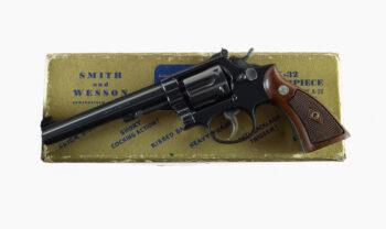 Smith & Wesson Pre Model 16 K-32 Masterpiece Mfd. 1956
