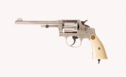 Exhibition Oscar Young Factory Engraved Smith & Wesson Model 1905
