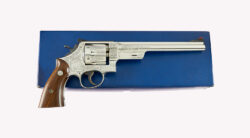 Class A Factory Panel Scene Engraved Smith & Wesson Pre Model 27