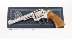 NICKEL Smith & Wesson Model 48-2