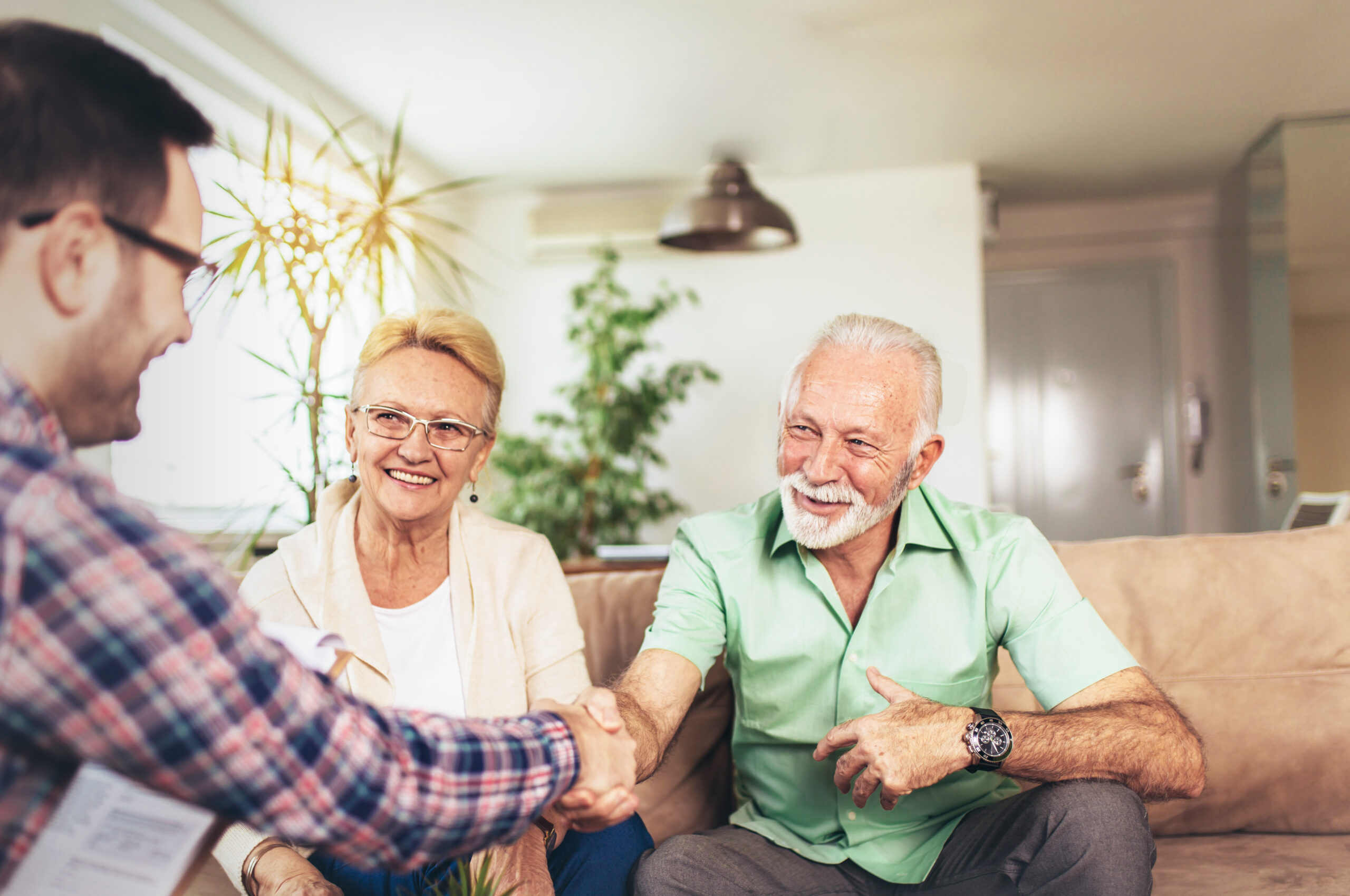 aged couple guardian consultation