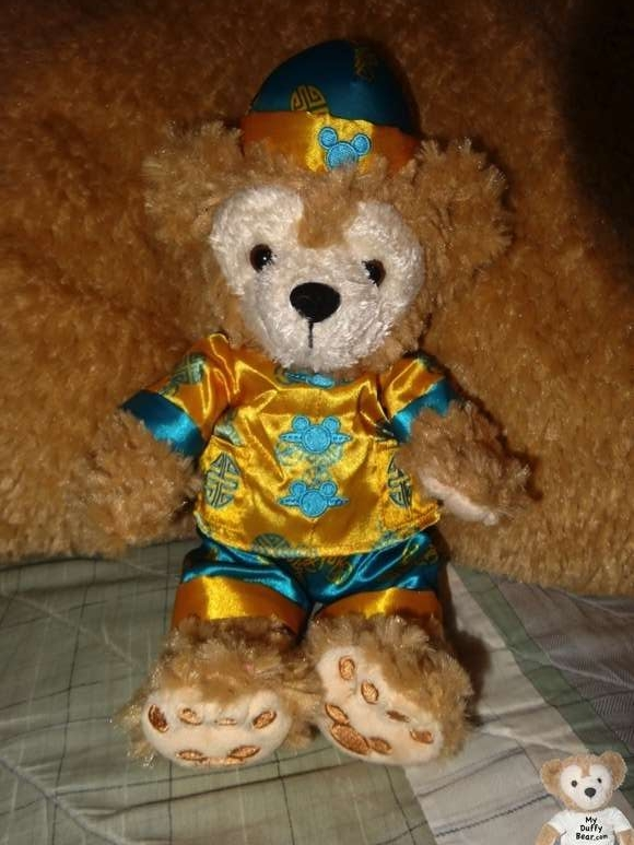 Duffy the Disney Bear Chinese New Year Hong Kong 2014