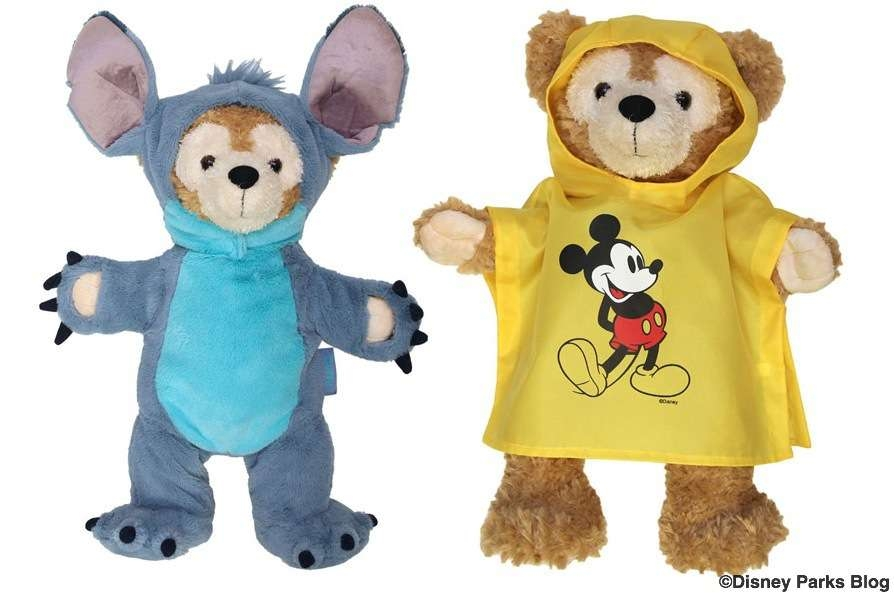 Duffy Disney Bear Outfits Stitch Costume from Lilo and Stitch and Mickey Mouse Rain Poncho