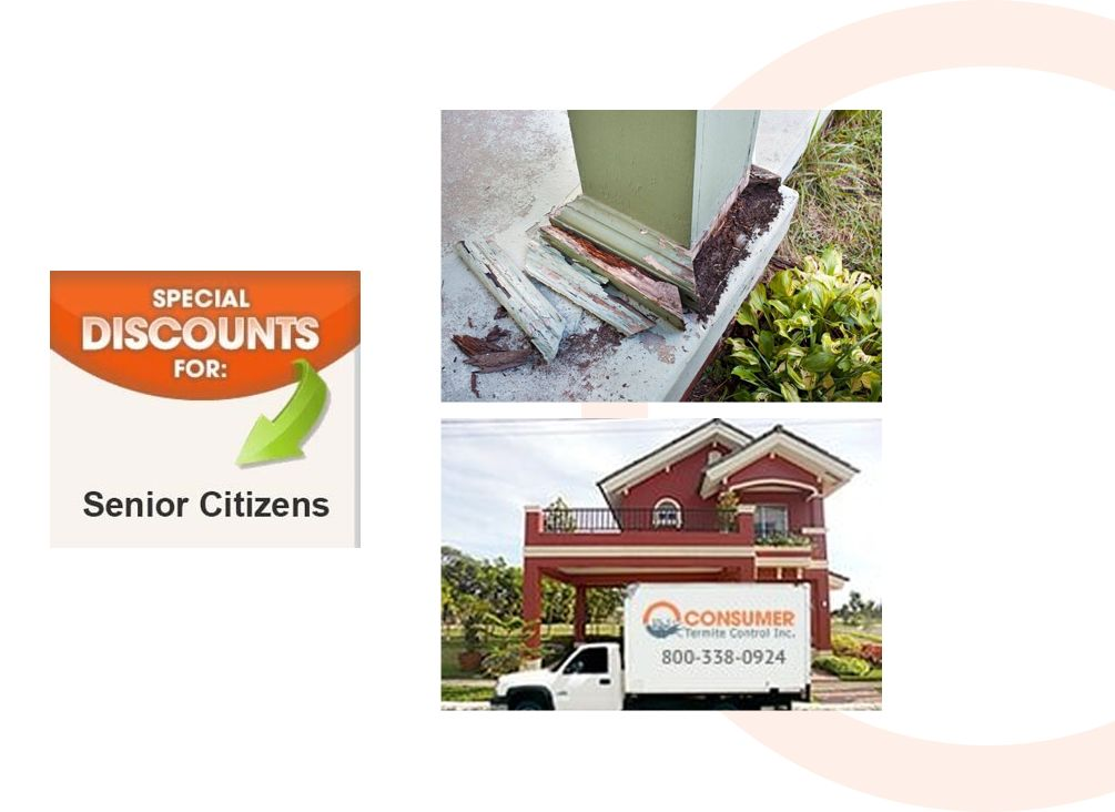 Home in Orange County, CA, that needs termite control services