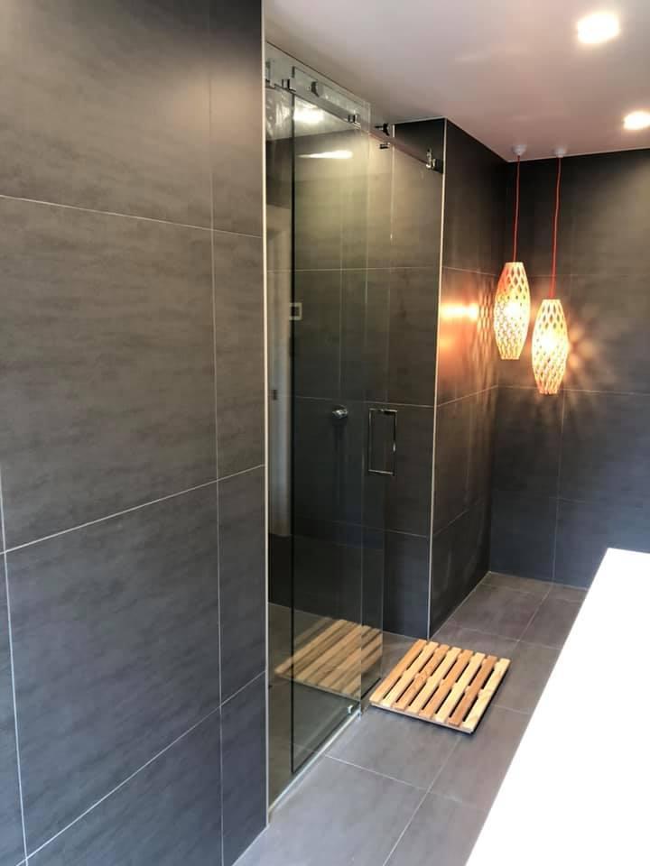 frameless shower Auckland