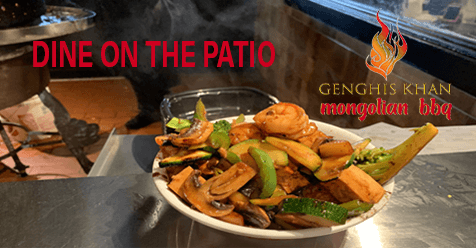 Dine on the Patio or Get it To Go