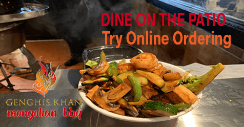 Mongolian BBQ – On The Patio or Dine at Home