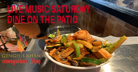 Order Online To Go or Patio Dining – Delivery Too