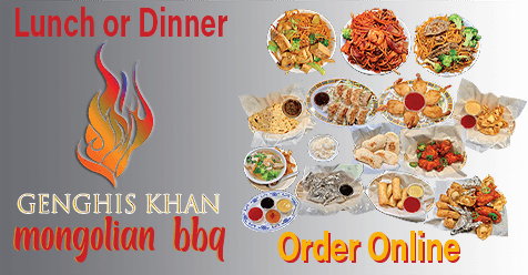 Lunch and Dinner Available Online   Take Out or Delivered