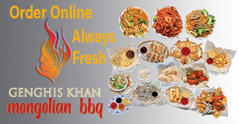 Delicious Available Online   Genghis KhanMongolian Restaurant