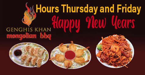 Genghis Khan Mongolian SCV | New Years Hours