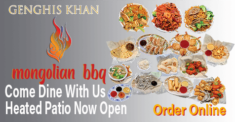 Valentines Day on Our Patio | Genghis Khan Mongolian BBQ
