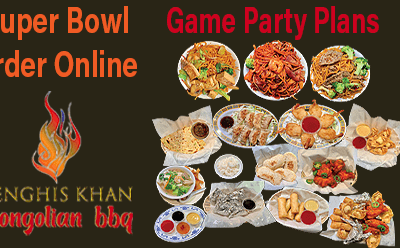 Order Online  | Superbowl Take Out or Delivered | Genghis Khan Mongolian Restaurant