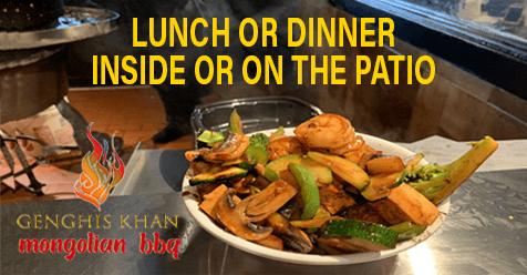 Come Inside | Genghis Khan Mongolian BBQ